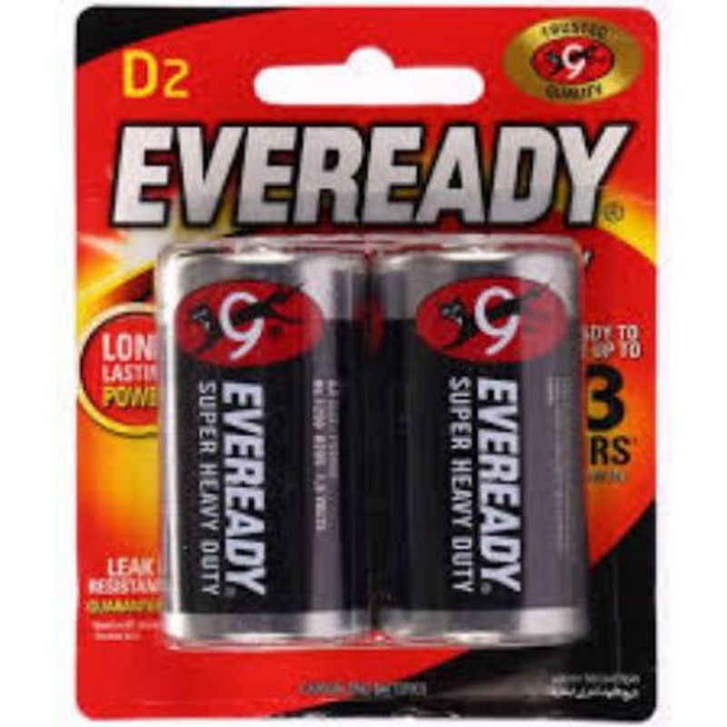 Eveready Super Heavy Duty Pack of 2