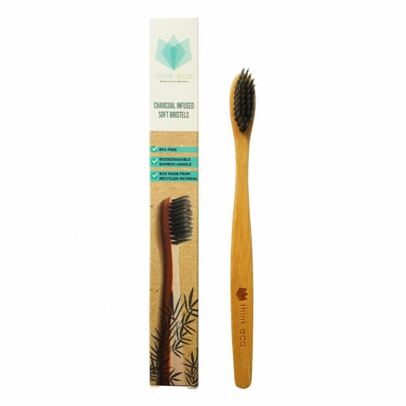 Think Eco Charcoal Infused Soft Bristels Toothbrush
