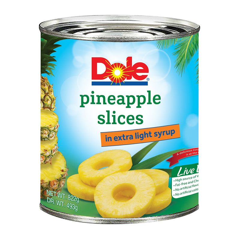 Dole Pineapple Slices 340gm