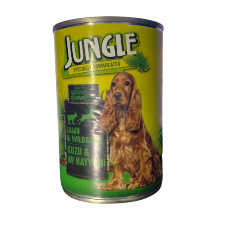 Jungle Specially Formulated Lamb & Wildgame 415gm