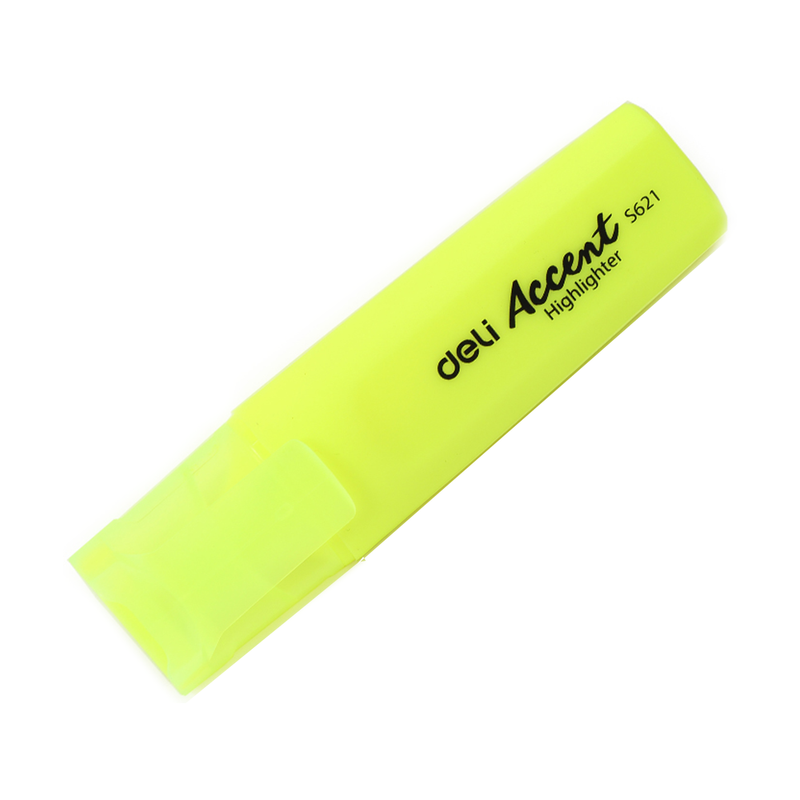 Deli Accent Highlighter Yellow