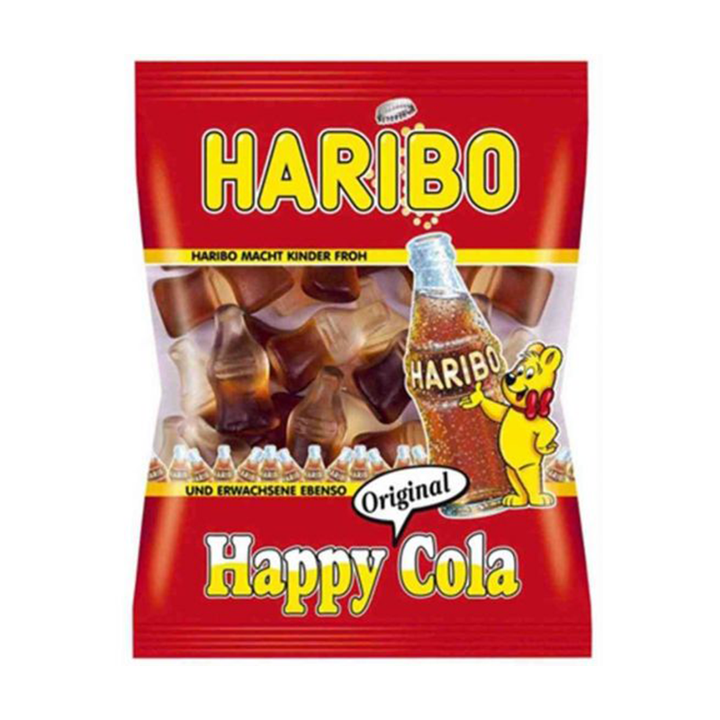 Haribo Happy Cola Jelly Pocket Size Pouch 30gm