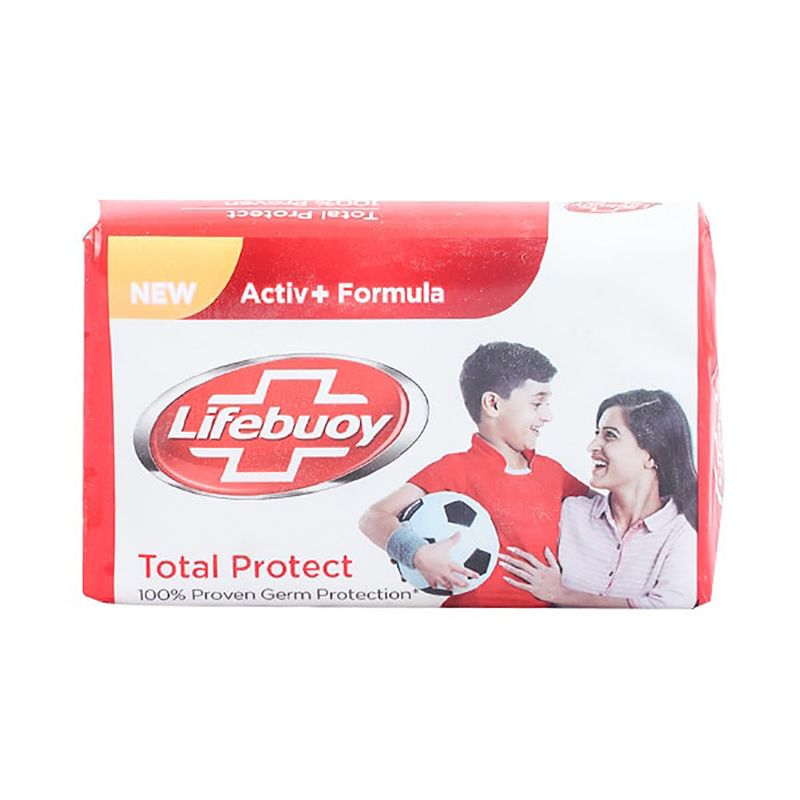 Lifebuoy Total Protect Soap 2 in 1 112gm