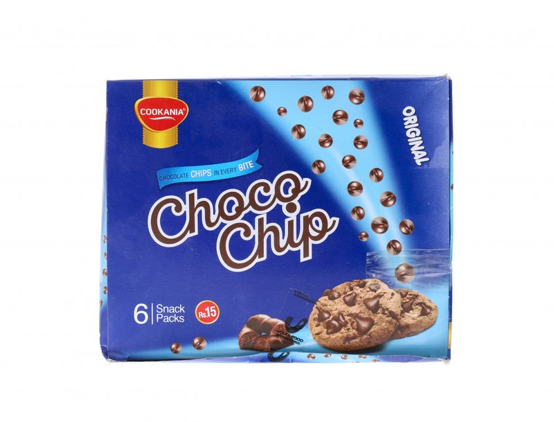 Cookania Choco Chip Biscuits 6 Packs