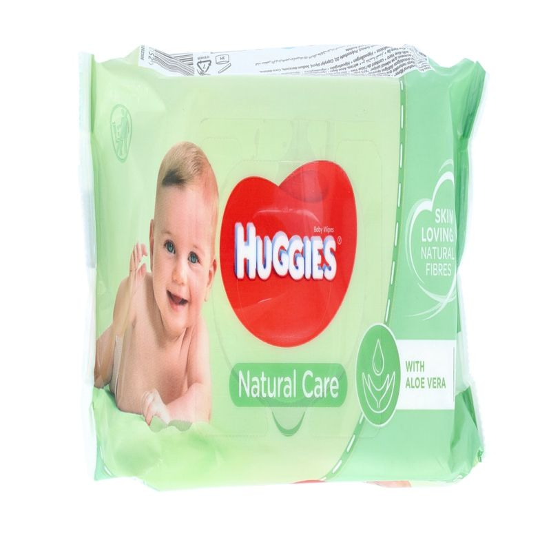 Huggies Natural Care Wipes 56wipes