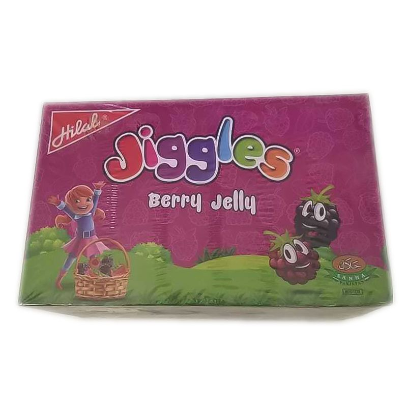 Hilal Jiggles Berry Jelly 216gm - 12 Pouches
