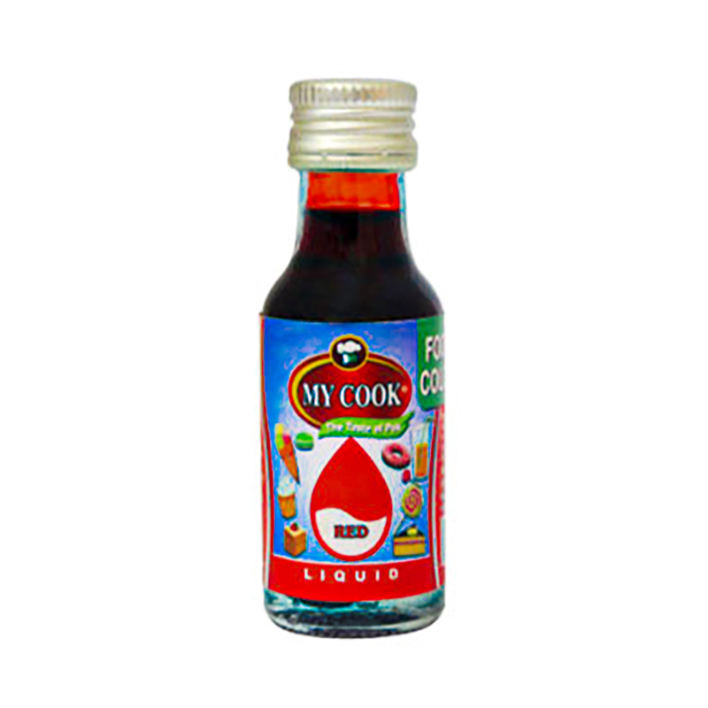 My Cook Red Liquid Food Color 28ml