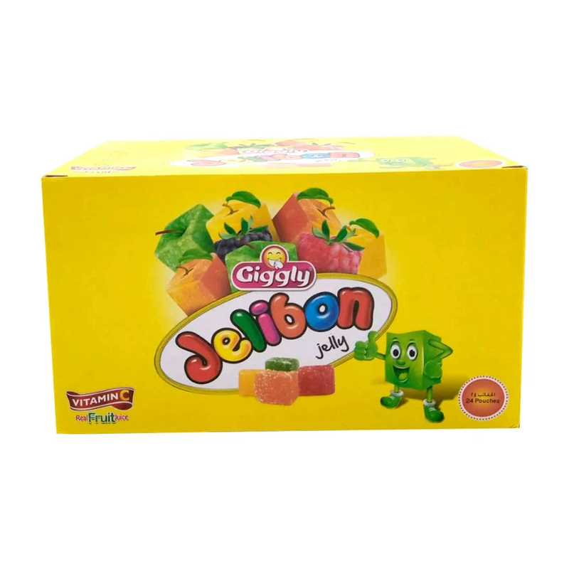 Giggly Jelibon Jelly 24 Pouches