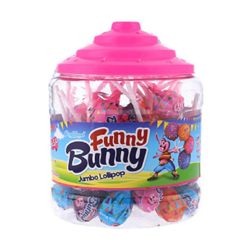 Candyland Funny Bunny Lollipop 75 Pieces