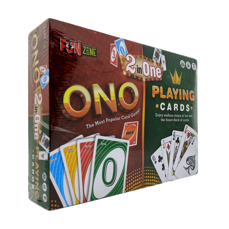 ONO Playing Cards Game 2in1