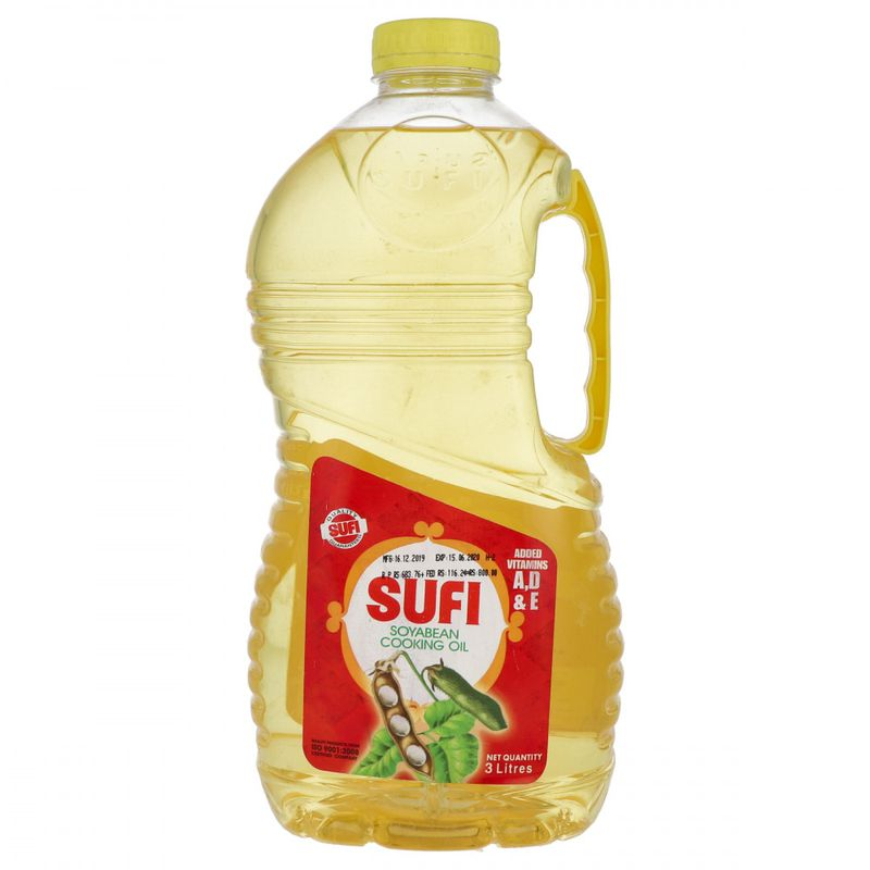 Sufi Soyabean Cooking Oil 3ltr
