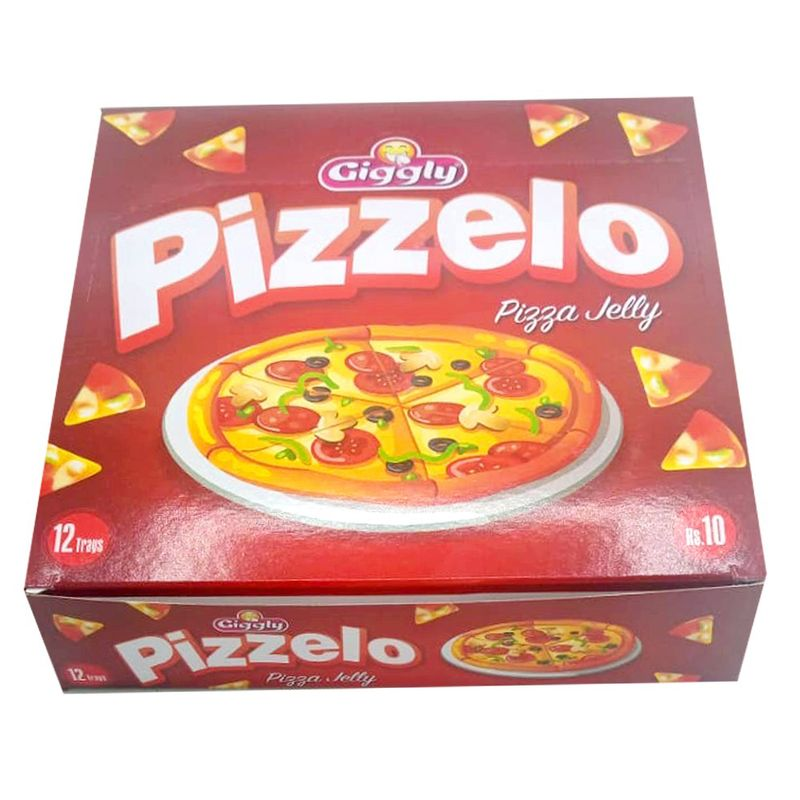 Giggly Pizzelo Pizza Jelly 12 Trays