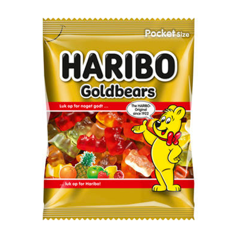 Haribo Gold Bears Jelly Pocket Size Pouch 30gm