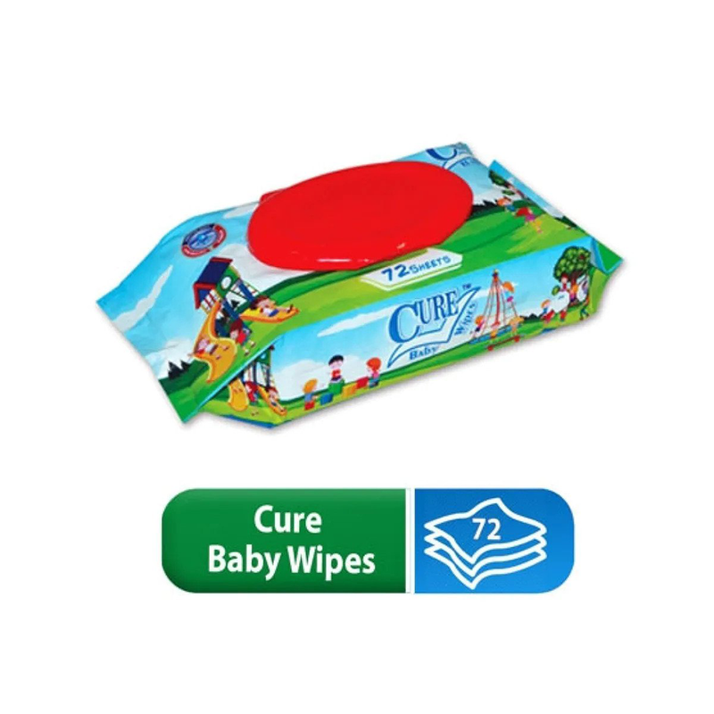 Cure Baby Wipes 72 Sheets