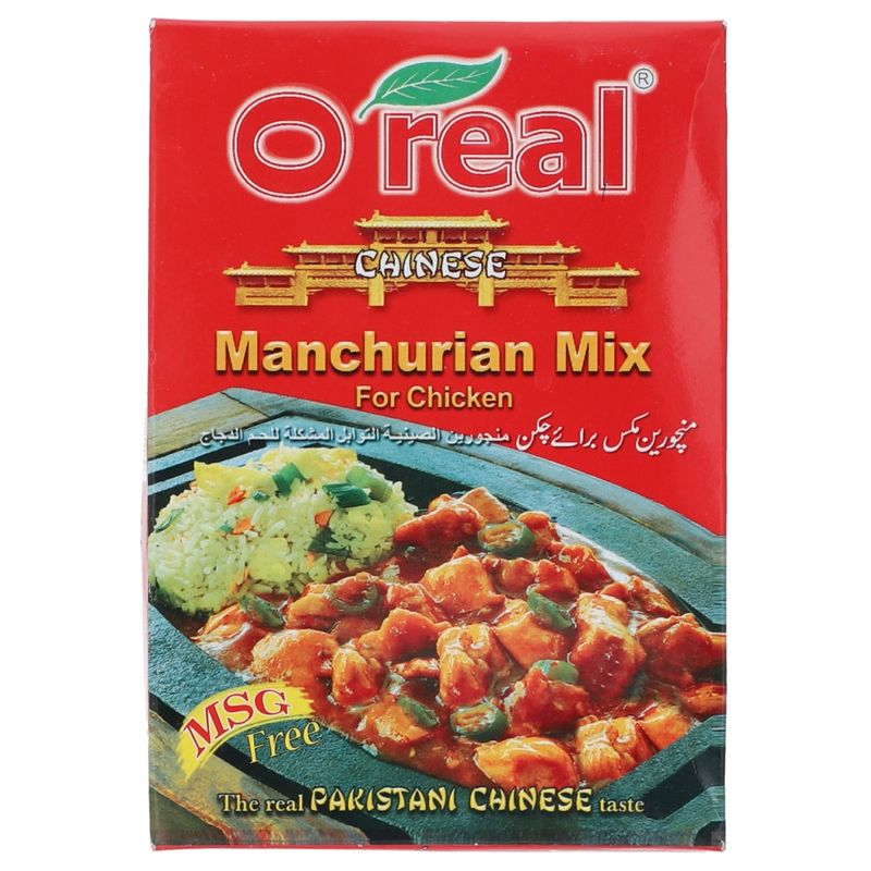 O-Real Chinese Manchurian Mix For Chicken 65gm