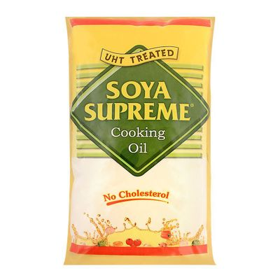 Soya Supreme Cooking Oil Pouch 1 L