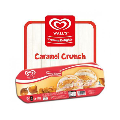 Wall's Caramel Crunch Family Pack 4.5L