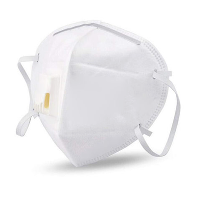 KN95 Face Mask With Filter White