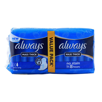 Always Thick Maxi Sanitary Pads Long