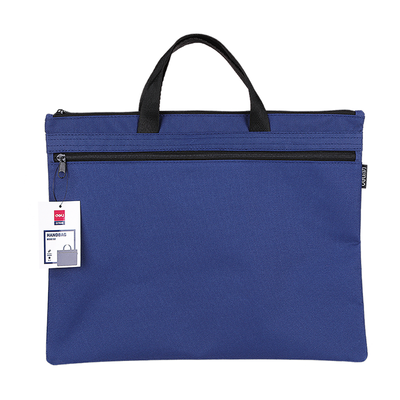 Deli Hangbag Polyester A4 Blue 390mmx300mm