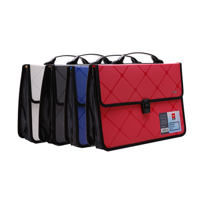 Deli Cube Brief Case Buckled with Handle A4 4C