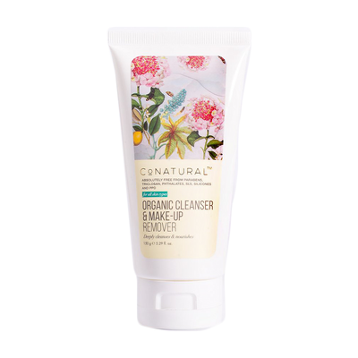 CoNatural Organic Cleanser & Makeup Remover 150gm
