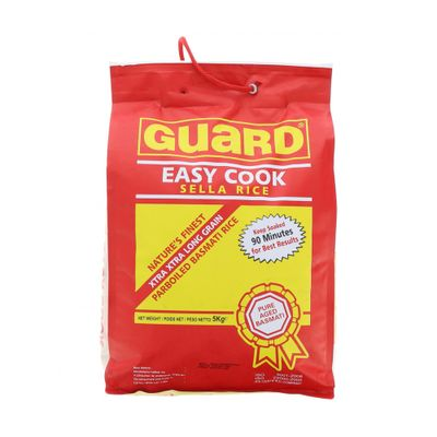 Guard Easy Cook Sella Rice 5kg