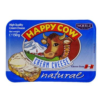 Happy Cow Cream Cheese Natural 150gm