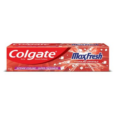 Colgate Maxfresh With Cooling Crystal Spicy Fresh 125gm