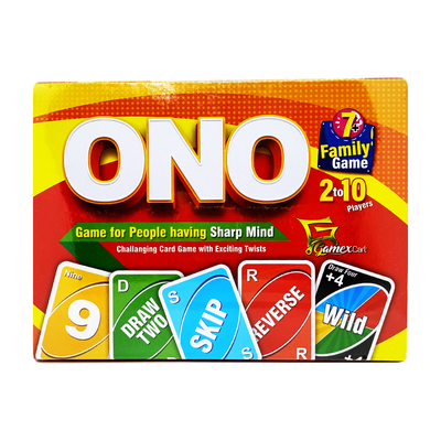 ONO Family Game (2 to 10 Players)