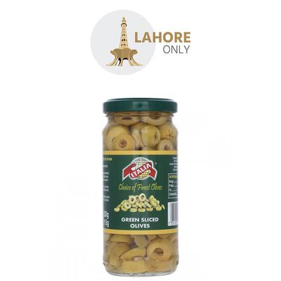 Italia Pitted Green Olives 230gm