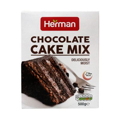 Herman Chocolate Cake Mix Deliciously Moist 500gm