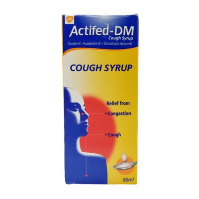 Actifed-DM Cough Syrup 90ml