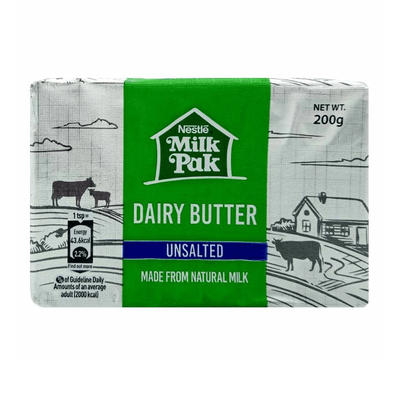 Nestle Dairy Butter Unsalted 200gm