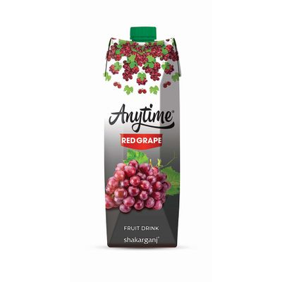 Anytime Red Grape Nectar 1L