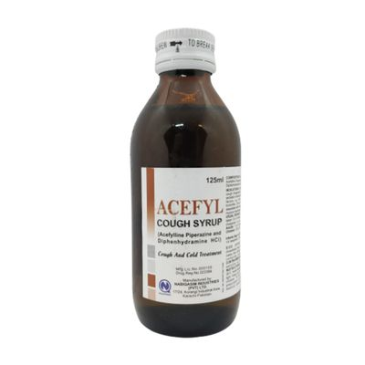 Acefyl Cough Syrup 125ml