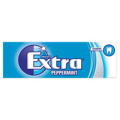 Extra Chewing Gum Peppermint (Pack Of 10)