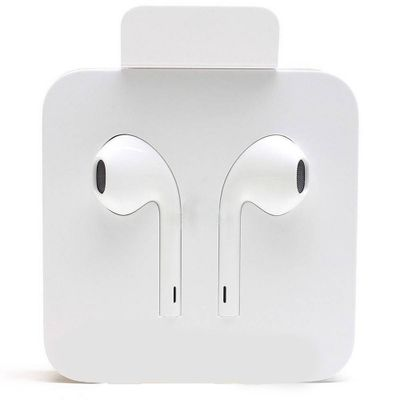 Genuine Certified Apple iPhone Ear Pods Handsfree For iPhone 7,8, Plus, iPhone X & iPhone Xmax MFI - White