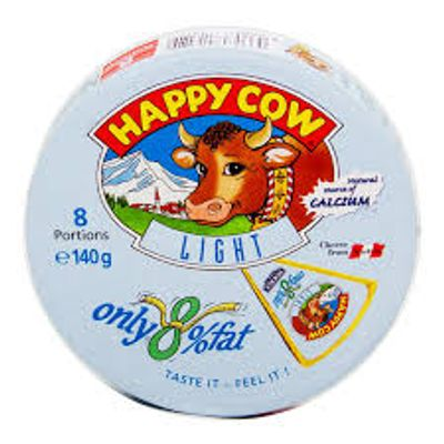 Happy Cow Light 8 Portions 140gm