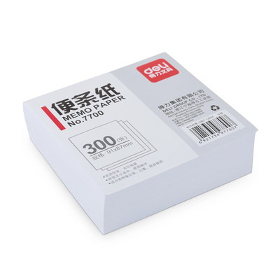 Deli Notepad 300 Sheets 91mmx87mm
