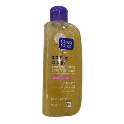 Clean & Clear Morning Energy Skin Brightening Daily Facial Wash 150ml