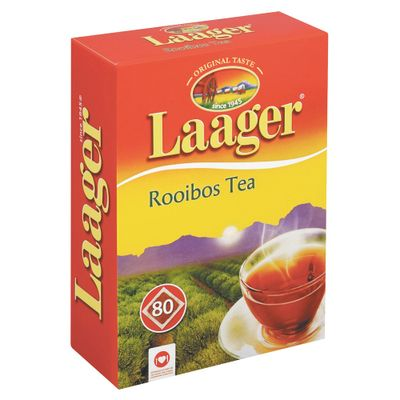 Laager Pure Rooibos Teabags 80 Teabags