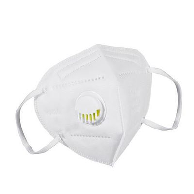SS-KN95 Modern Face Mask With Filter White