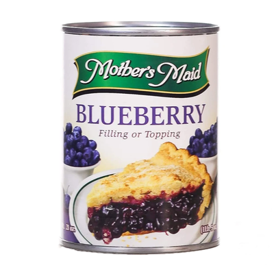 Mother's Maid Blueberry Filling or Topping 595gm