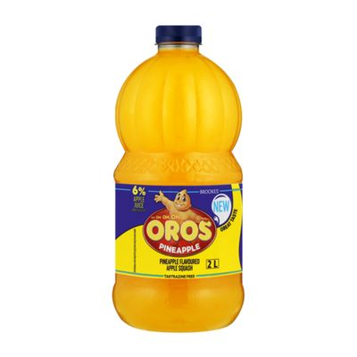 Oros Concentrate Squash Pineapple 2L