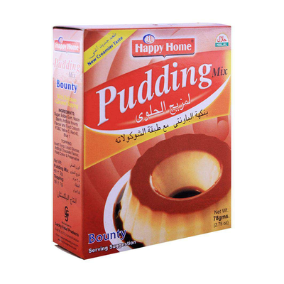 Happy Home Bounty Pudding Mix 78gm