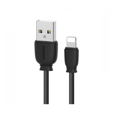 Remax Fast Charging Lightning Cable 2.1A - Black - 1 Meter