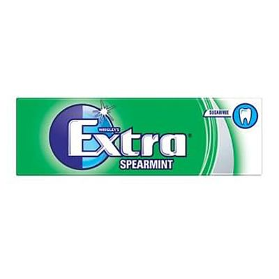 Extra Chewing Gum Spearmint (Pack Of 10)