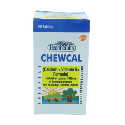 Chewcal Tablet - 30 Tablets