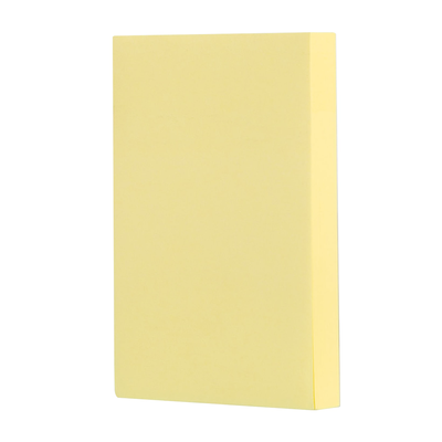 Deli Sticky Notes Yellow 76mm×51mm (100 Sheets)
